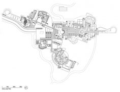 AD Classics: Getty Center / Richard Meier & Partners Architects EntryLevelPlan – ArchDaily