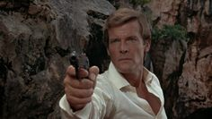 The Man With The Golden Gun – Rolex Submariner - Roger Moore Roger Moore, Rolex Submariner, Andrea Anders, James Bond Books, Peter O'toole, Bond Girls, For Your Eyes Only, Film Photography, Cinematography