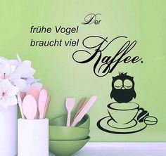 Wandtattoo Kaffee U2013 Spruch