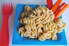 Sneaky Protein Packed Pasta (garbanzo bean & nutritional yeast sauce) #vegan