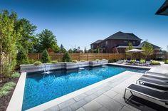 Pool design and construction by AquaSpa Pools & Landscape design via Homestars.