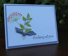CAS180 Summer Silhouettes by nancy littrell - Cards and Paper Crafts at Splitcoaststampers
