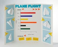 paper airplanes fair projects science fair and airplanes building paper airplanes have you ever wondered why planes can fly next years science fair this lesson will turn your students into aviation experts as