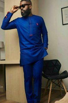African Dresses Men, African Clothing For Men, African Men Fashion, African Wear, African Shirts, Mens Fashion, African Attire, Fashion Edgy, African Style