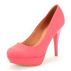 Sapato Salto Vizzano R$89.90  #rose #look #day #night #glamour