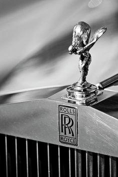 Rolls-Royce Hood Ornament - Jill Reger - Photographic prints for sale Rolls Royce Wraith, Rolls Royce Phantom, Rolls Royce Images, Rolls Roys, Bentley Rolls Royce, Rolls Royce Motor Cars, Car Hood Ornaments, Mazda Cars, Prints For Sale