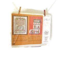 NIP Cross Stitch Christmas Stocking Kit  The Story Of