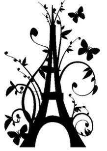 Grain de musc: Paris Perfume Pilgrimage, Part I: the Right Bank Paris Room Decor, Paris Theme, Eiffel Tower Photography, Drawing Stencils, Paris Perfume, Drawing Tutorials For Beginners, Silhouette Portrait, Paint Party, Silhouette Projects