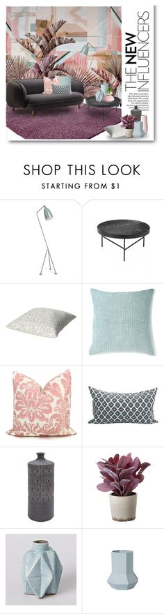 """New Influences"" by ollie-and-me ❤ liked on Polyvore featuring interior, interiors, interior design, home, home decor, interior decorating, Vision, ferm LIVING and Torre & Tagus"