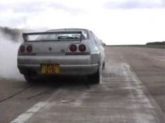 R33 Skyline GTR Launch