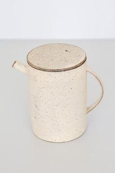 Takashi Endo Teapot - White
