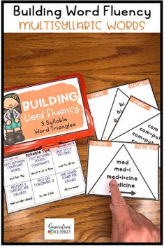 Decoding Multisyllabic Words - phonics word work activities. Phonics decoding activities