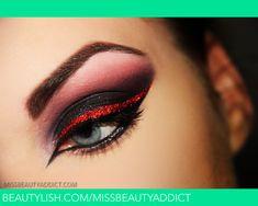 Devil´s Fiancee | red glitter liner