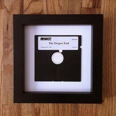 Quadro Decorativo com Disquete #diy #floppydisk #disquete #reciclar #reaproveitar