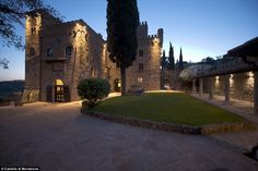 Castello di Monterone in Perugia, Italy, is a 13th-century structure with loads of medieva...