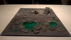 Guide to how I made my Shadespire boards. The two first, at least. Still need to do the two others. Warhammer 40k Necrons, Warhammer Terrain, Game Terrain, 40k Terrain, Stormcast Eternals, Age Of Sigmar, Dark Eldar, Wargaming Terrain, Game Workshop