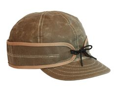Waxed Canvas Stormy Kromer