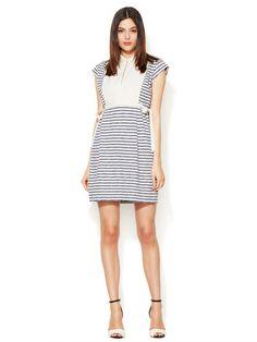 Mae Stripe Combo Dress, MARC