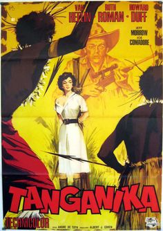 Tanganyika Movie Poster 1954