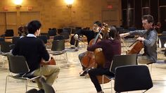 This is fantastic!!!  Did David get his idea from these kids?  Viva La Vida by Coldplay for 5 Cellos - String Theory