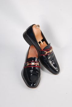 Handmade Special Design Luxury Navy Blue Patent by UstabasShoes, $349.00