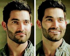 Derek Hale and his adorable smile!!