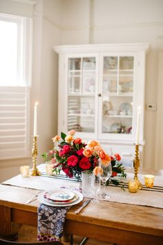 Dinner for two: http://www.stylemepretty.com/2014/02/18/ideas-for-an-intimate-i-do/