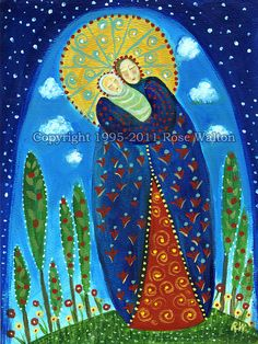 Mary's Primordial World