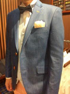 デニムスタイル オーダータキシード完成!|結婚式の新郎タキシード/新郎衣装はメンズブライダルへ