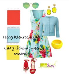 Color Combinations, Contrast, Summer Dresses, Outfits, Tips, Blog, Fashion, La Mode, Outfit
