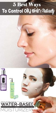 5 Best Ways To Control Oily Skin Naturally, Simple Oily Skin Treatment Oily skin care routine remedy, how to get rid of, oily skin makeup, oily skin care routine drugstore. Oily Skin Makeup, Mask For Oily Skin, Oily Skin Care, Face Skin Care, Skin Care Tips, Oily Skin Treatment, Skin Care Treatments, Organic Skin Care, Natural Skin Care