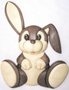 Little Bunny Intarsia Project Pattern