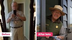 How Richard got a new life at 69 though keto — Diet Doctor Atkins Diet, Keto Diet Plan, 2 Week Challenge, Lose Water Weight, Ketosis Diet, Fatty Fish, Water Fasting, Weight Loss Before, Ketogenic Recipes