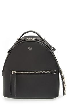 d6bb7c68707a Fendi  Mini Croc-Tail  Leather Backpack available at  Nordstrom Black  Leather Backpack