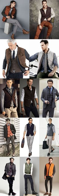 Key Menswear Pieces For Autumn/Winter 2014 : The Gilet Lookbook Inspiration