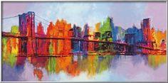 オールポスターズの ブライアン・カーター「Abstract Manhattan」高画質プリント