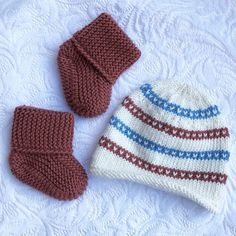 Babylue og strømper Knitted Hats, Winter Hats, Knitting, Shopping, Fashion, Brown, Moda, Tricot, Fashion Styles