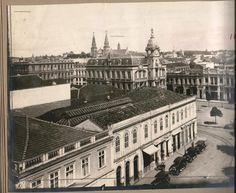O Paço municipal nesta bela foto, anos 1930.