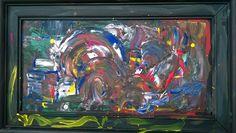 Subconscious mind, Canvas/acrylic