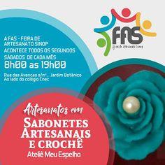 Atelie Meu Espelho- participando da FAS - Feira de artesanato de Sinop