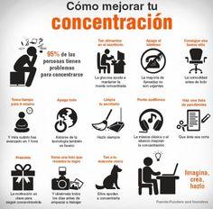 formas de mejorar tu concentracion