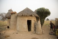 Tata house - Mud castles in Northern Togo.