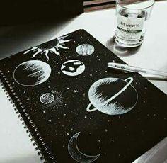 Word art drawings doodles heart 21 New ideas Space Drawings, Pencil Art Drawings, Art Drawings Sketches, Sketch Art, Sketch Design, Black Paper Drawing, Deep Drawing, Sketchbook Cover, Image Clipart