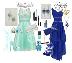 """""""Prom Night and Wedding Guest"""" by lory187 ❤ liked on Polyvore featuring Damsel in a Dress, Bling Jewelry, TaylorSays, Dasein, ASOS, Yves Saint Laurent, Marc Jacobs, Torrid, Christian Dior and By Terry"""