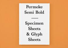 Permeke Semi Bold Typeface by Josse Pyl