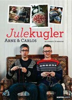 Julekugler - Strik og broderi - garn, kits og designs i Sommerfuglen