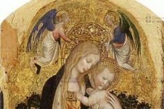 MUSEO CIVICO DI CASTELVECCHIO DE VÉRONE Antonio Pisano dit Pisanello - La Madone à la caille 1420