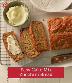 Here's another brilliant (and easy!) way to use up a garden full of zucchini. These tasty loaves are freezer-friendly, so bake up a few batches and save for later. To freeze, cool loaves completely. Wrap each loaf tightly in foil, or place in resealable freezer plastic bags. Be sure to label and date each loaf and eat (or gift) within three months.