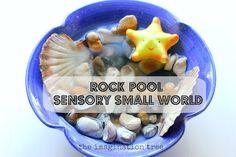 Rock Pool Sensory Small World Play!