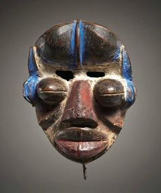 Grebo. Costa de Marfil - Gothamgallery Fino Arte Africano-Máscara Tribal Grebo Costa de Marfil in Antigüedades, Etnográficas, Africano, Otras antigüedades africanas